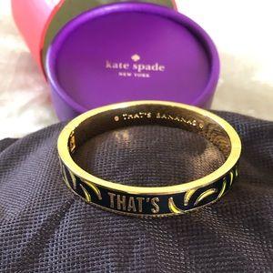 "Kate Spade ""Thats Bananas"" bracelet"